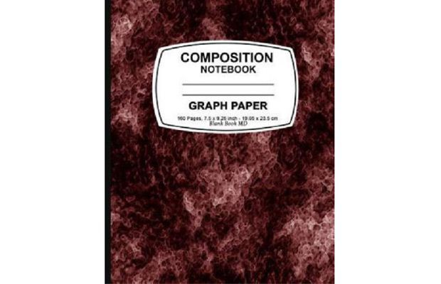 walmart graph paper notebook red marble graph paper notebook