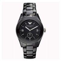 Emporio Armani AR1422 Ladies Black Ceramic Watch