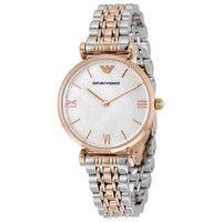 Emporio Armani AR1683 Classic Two-Tone Ladies Watch